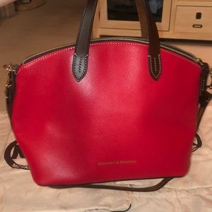 NWT red small Gabriella dooney and bourke purse